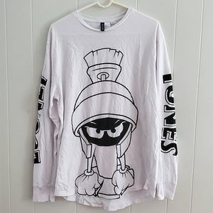 Looney Tunes w/ Marvin the Matian Long sleeve